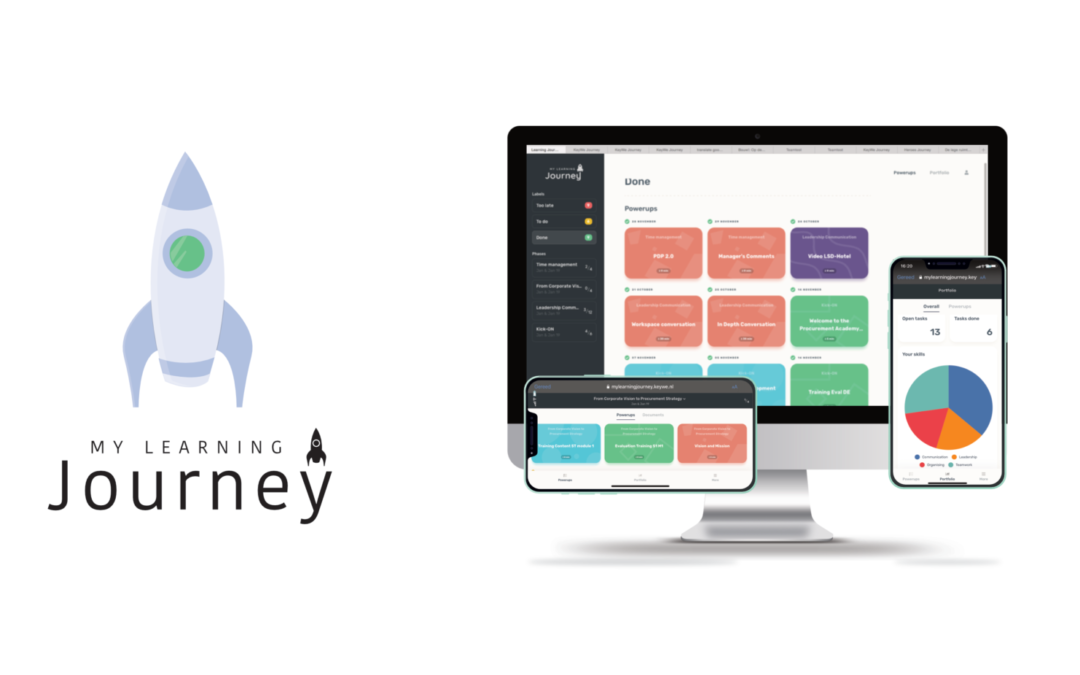 'My Learning Journey'-app is live!